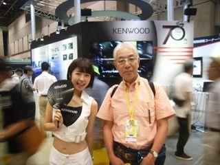 KENWOOD嬢と筆者(孫娘と祖父?)_640.jpg